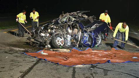accident maryland corvette driver killed  fatal