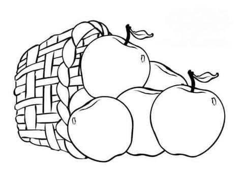 gambar mewarnai buah buahan 1 halaman mewarnai buku