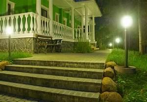die optimale aussenbeleuchtung obi ratgeber With französischer balkon mit garten außenbeleuchtung