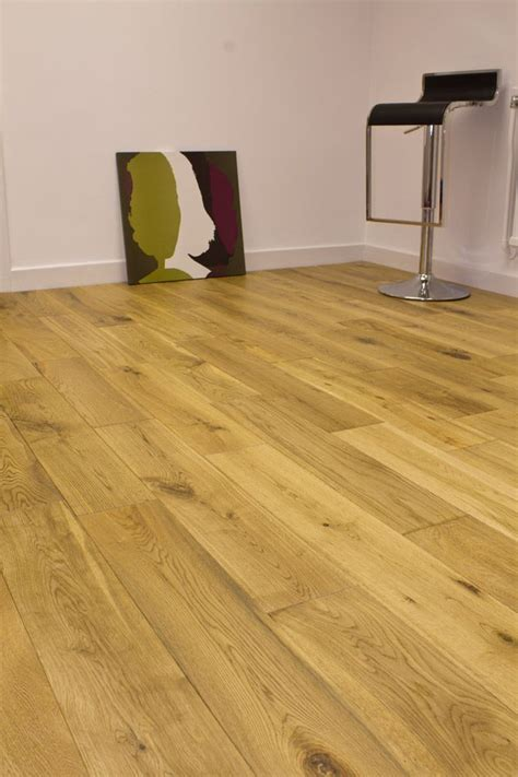 Natura 150mm Oak Matt Lacquered Solid Wood Flooring