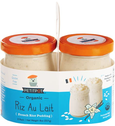 dessert au lait de riz petit pot coucou