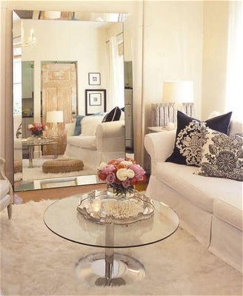 floor mirror living room venetian beaded mirror transitional living room house home