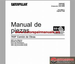 Cat 793f Truck Part Manual Part 1 Spanish