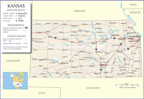 Kansas Map,kansas State Map,kansas Road Map, Map Of Kansas