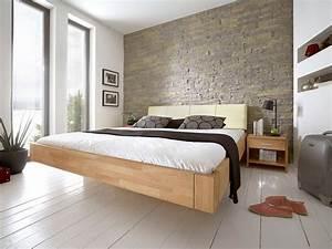 Bett 180x200 Metall : massivholzbetten mit schwebecharakter home4feeling ~ Whattoseeinmadrid.com Haus und Dekorationen