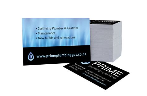 Mad Ideas Did The Brand Design For Prime Plumbing & Gas Javascript Ocr Business Card Printing Minneapolis Vistaprint Photoshop Via Iphone How To Create Electronic On Paper Size Psd Photographer Edit