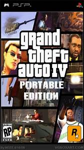 Grand Theft Auto IV Portable Edition PSP Box Art Cover by MEEE