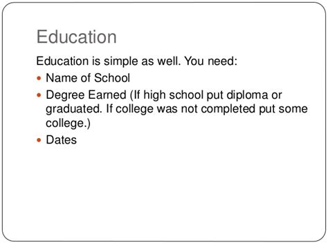 Should You Put High School Diploma On Resume by Resume Theory 101