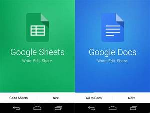 google docs and sheets apps for android get new design and With google docs app for pc download