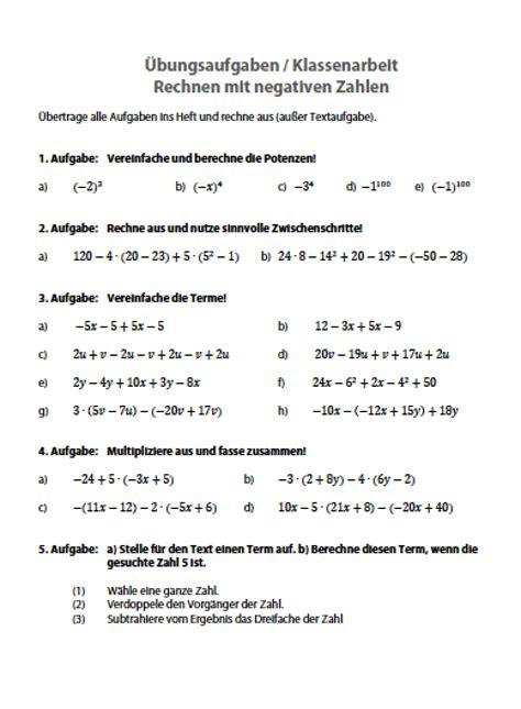 nullstellen berechnen aufgaben klasse  kopfrechentests