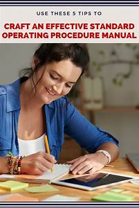 How To Write A Truly Useful Standard Operating Procedure