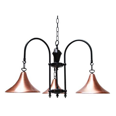 carea  copper industrial chandelier contemporary