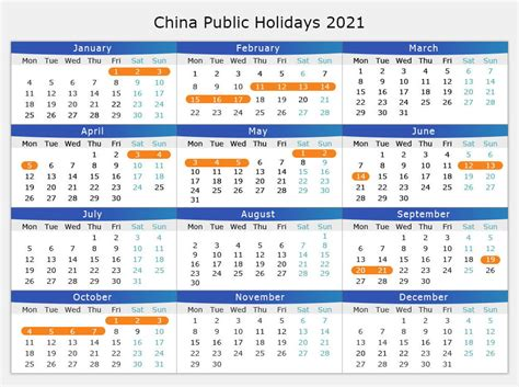 national holiday calendar january    guide