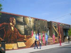 un mural picture of mural arts program of philadelphia