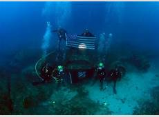 Dive a Wartime B17 Bomber Wreck off the Coast of Corsica