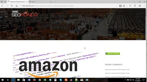 Amazon Product Descriptions Html Template Youtube