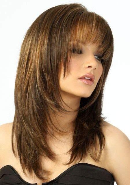 short layered haircuts with bangs 2017