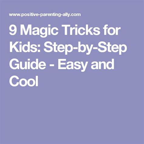easy card tricks for best 25 card tricks for kids ideas on pinterest