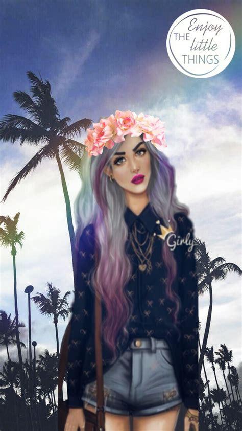 freetoedit wallpaper girl tumblr girlym flower