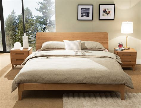 wooden bed frame beaumont edition wood bed frame