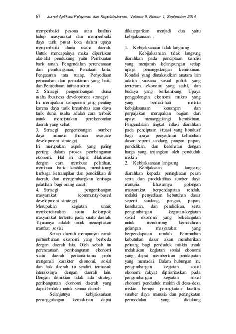 JURNAL PDP VOL 5 N0 1 Benny Agus Setiono Kemiskinan