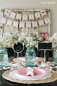 Vintage Cowgirl Birthday Party Ideas