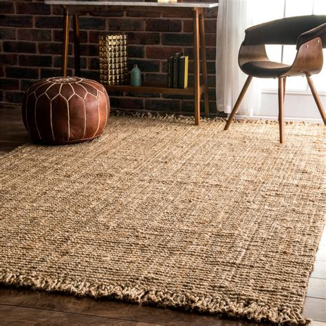 jute area rugs transform any room in your house with an area rug