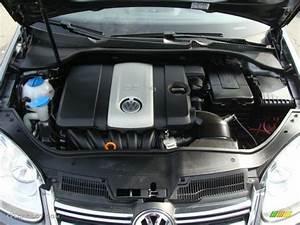 2007 Volkswagen Jetta 2 5 Sedan 2 5 Liter Dohc 20 Valve 5 Cylinder Engine Photo  46488834