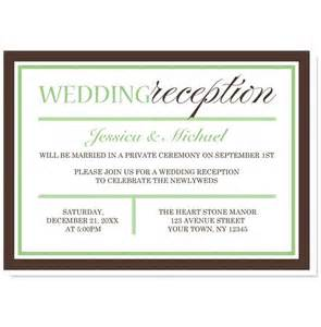 reception only invitation wording sles how to make wedding reception invitation wording wedding