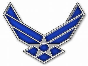 Air Force Logo Wallpaper on WallpaperGet.com