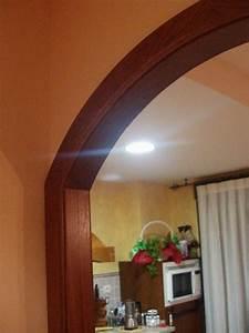 Arco de paso en madera de roble Muebles Cansado (Zaragoza) Carpintero, ebanista artesano