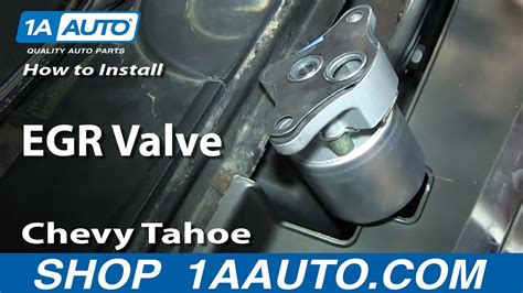 replace egr valve   chevy tahoe youtube