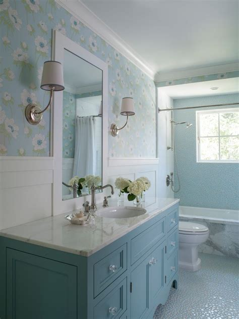 Beautiful Blue Vanity Bathroom Traditional with Ideas