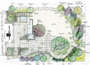 How to plan landscape lighting design : Best ideas about landscape design on wall