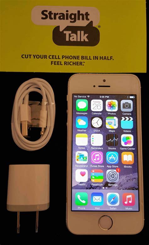 talk iphone 5s talk apple iphone 5s silver 16gb wireless phone