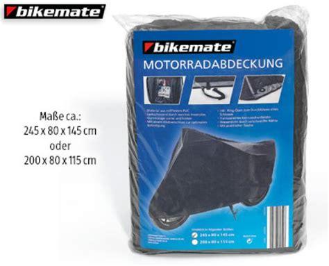 Bikemate® Motorradabdeckung Von Aldi Süd Ansehen