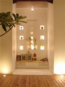 Pooja Room Color Ideas - Pooja Room and Rangoli Designs