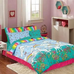Kidz, Mix, Unicorn, Rainbow, Bed