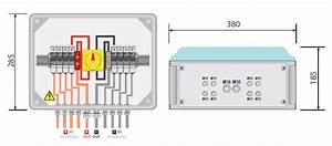 Pv Combiner Box 4way In 1 Way Out  Dc Fuses 500vdc