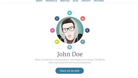 beautiful portfolio website templates  artists