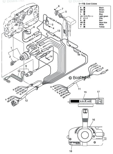 nissan 2010 nsf9 8a3 4 stroke nissan oem parts diagram for component parts of remote