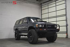 1990 Toyota 4runner Hilux Surf Turbo Diesel For Sale
