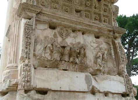 le titus tito landi israele espone all unesco la menor 224 dell arco di tito debug lies