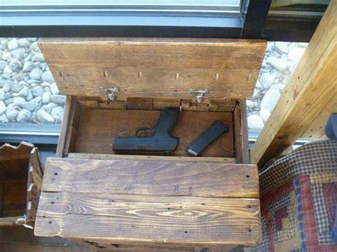hidden compartment furniture nightstand hidden gun