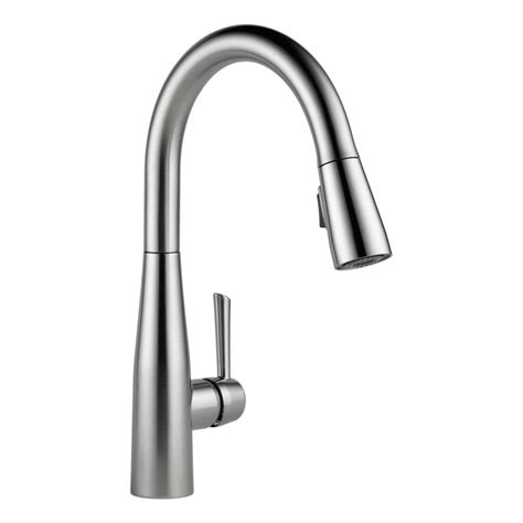 delta kitchen faucet warranty faucet com 9113 ar dst in arctic stainless by delta