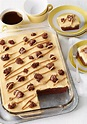 Peanut Butter Poke Cake Brownies - Acadiana's Thrifty Mom