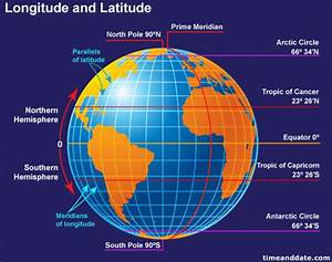 Understanding Longitudes And Latitudes