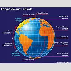 What Is Longitude And Latitude?