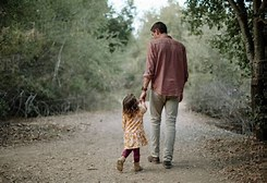 Image result for Royalty Free Picture of Father And CHILD Walking