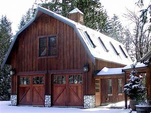 gorgeous gambrel barn garage architecture and design With barn looking garage